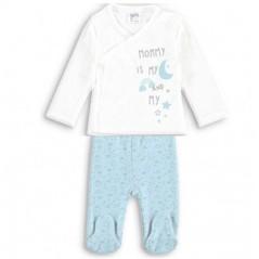 Pijama bebe animales rosa