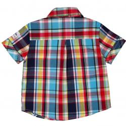 Camisa Bebe Niño Cuadros BOBOLI 1