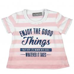 Camiseta Bebe Niña Things BOBOLI