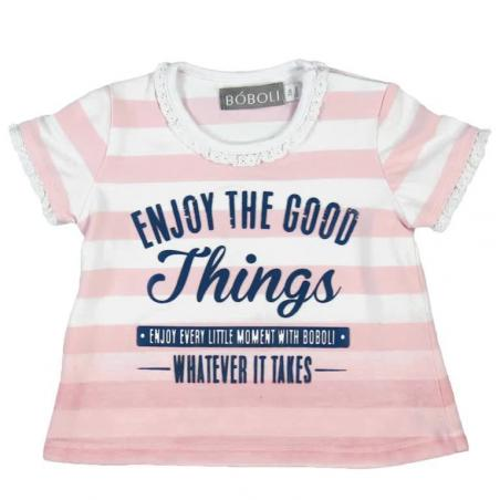 Camiseta Bebe Niña Things BOBOLI