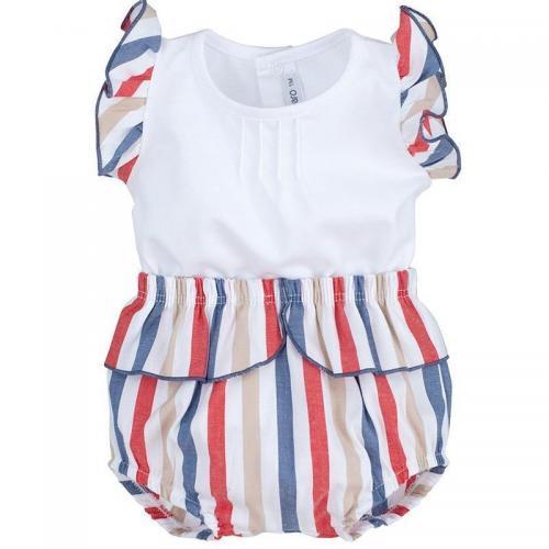 Camiseta Boboli bebe Blanco 3