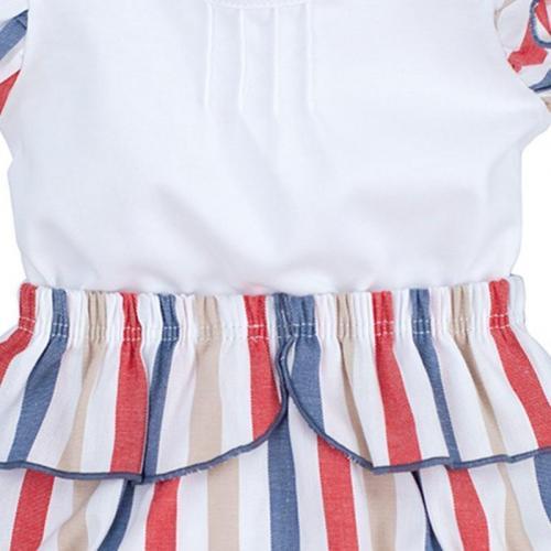 Camiseta Boboli bebe Blanco 4