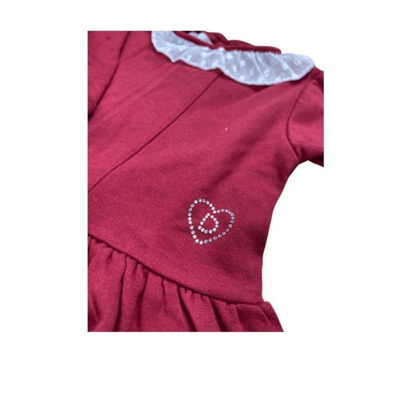 Camiseta punto liso bebe Rosa