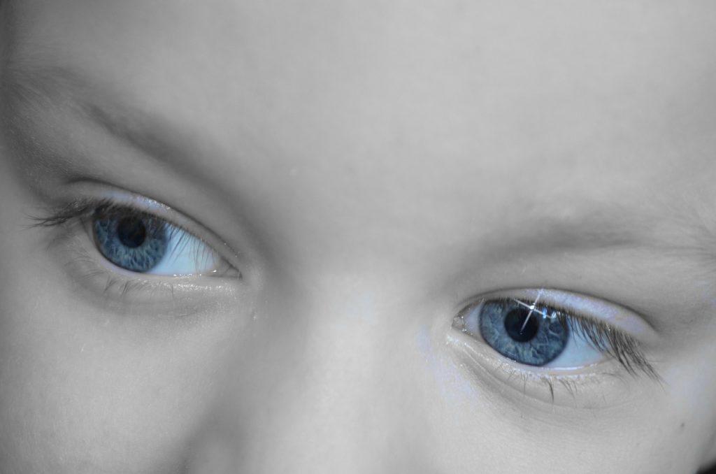 El color de ojos de los bebes.Toda una sorpresa.