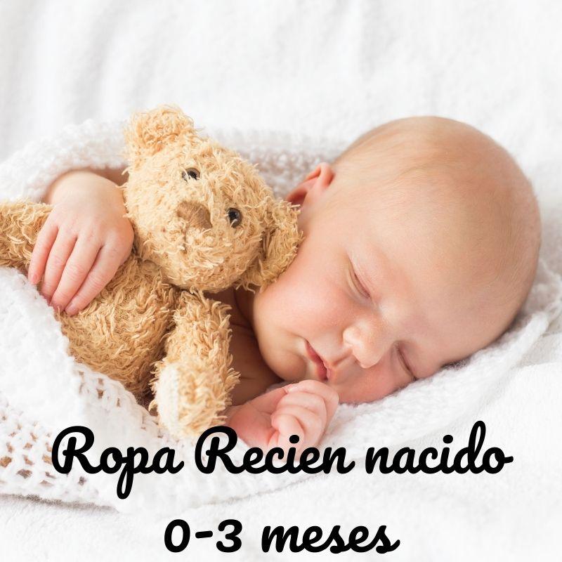 Ropa de bebe recién nacido desde 0 meses hasta 3 meses