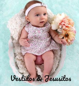 0727a677ca Vestidos bebe ...