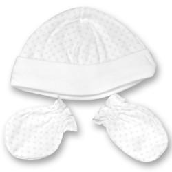 gorro de algodon para el bebe en el hospital