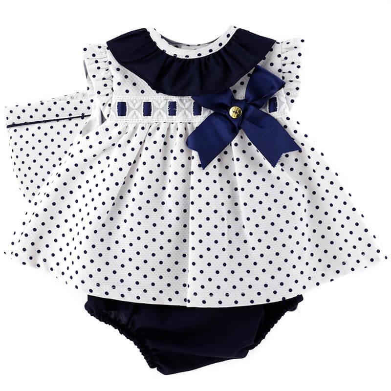 vestido-estampado-lunares-moda-bebe-niña